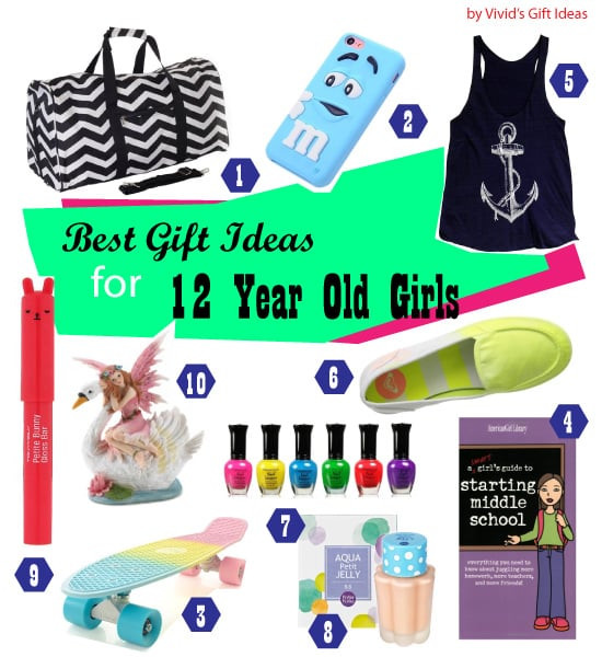 12 Year Old Girl Birthday Gift Ideas  List of Good 12th Birthday Gifts for Girls Vivid s