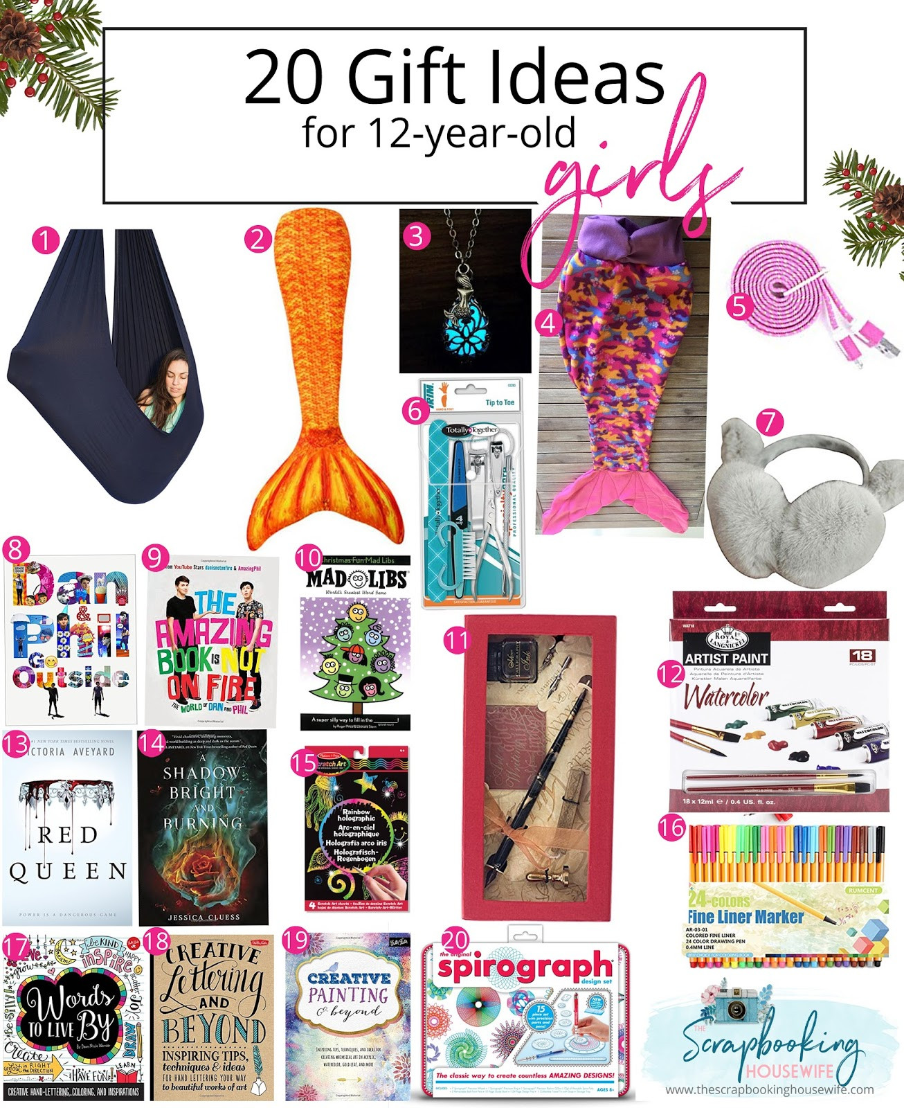 12 Year Old Girl Birthday Gift Ideas  Ellabella Designs 20 GIFT IDEAS FOR 12 YEAR OLD TWEEN