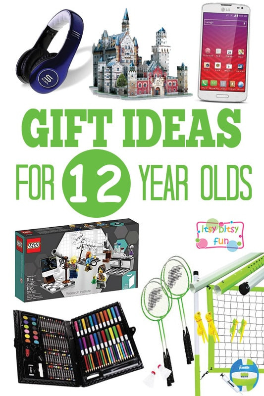 12 Year Old Girl Birthday Gift Ideas  Gifts for 12 Year Olds Itsy Bitsy Fun