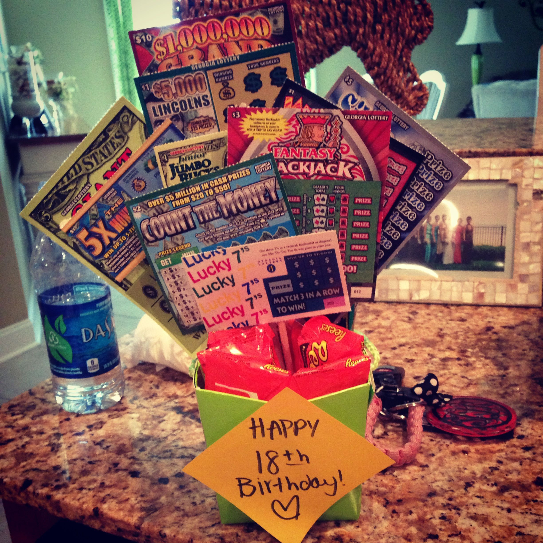 18Th Birthday Gift Ideas For Girl  18th birthday t scratchoffs