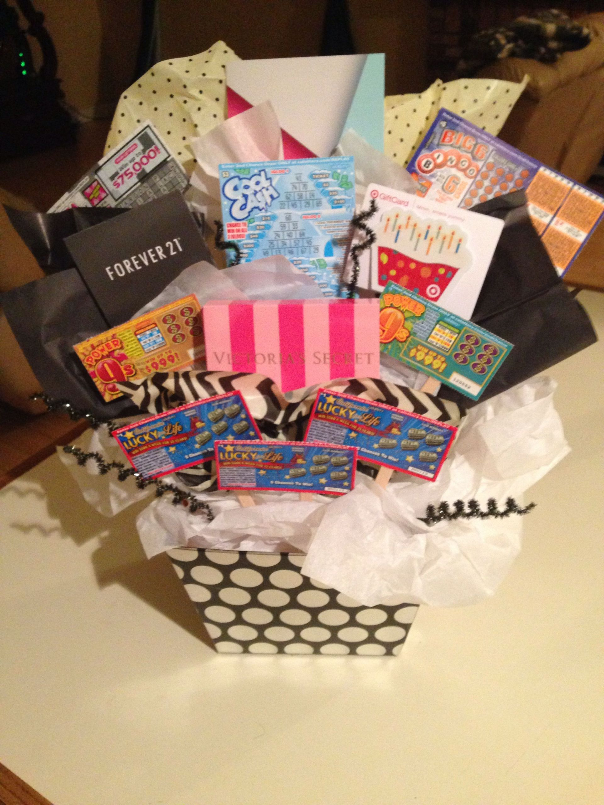 18Th Birthday Gift Ideas For Girl  Made for my sisters 18th birthday …