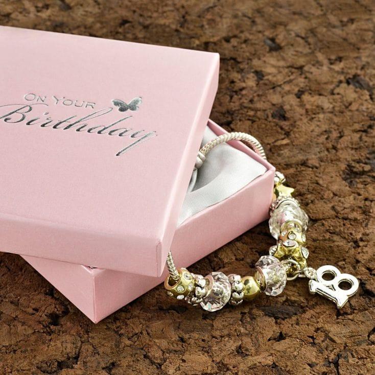 18Th Birthday Gift Ideas For Girl  18th Birthday Charm Bracelet