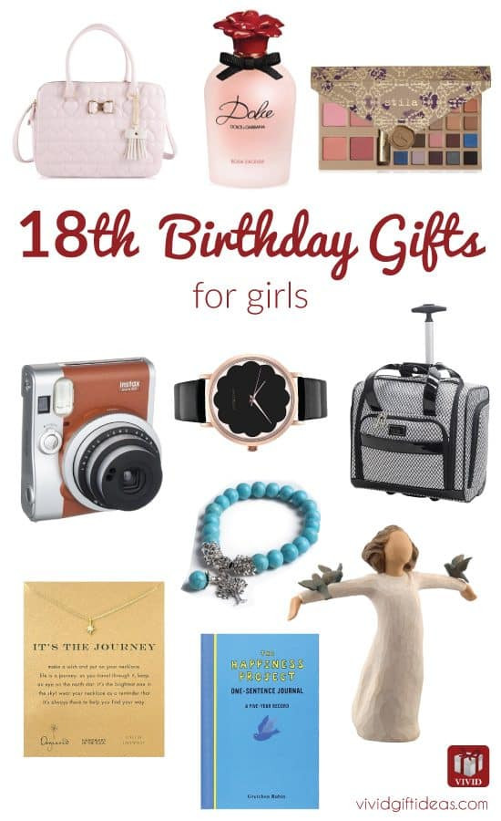 18Th Birthday Gift Ideas For Girl  Best 18th Birthday Gifts for Girls