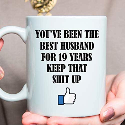 19Th Wedding Anniversary Gift Ideas For Him  Amazon 19th Anniversary Gift 19 Year Anniversary