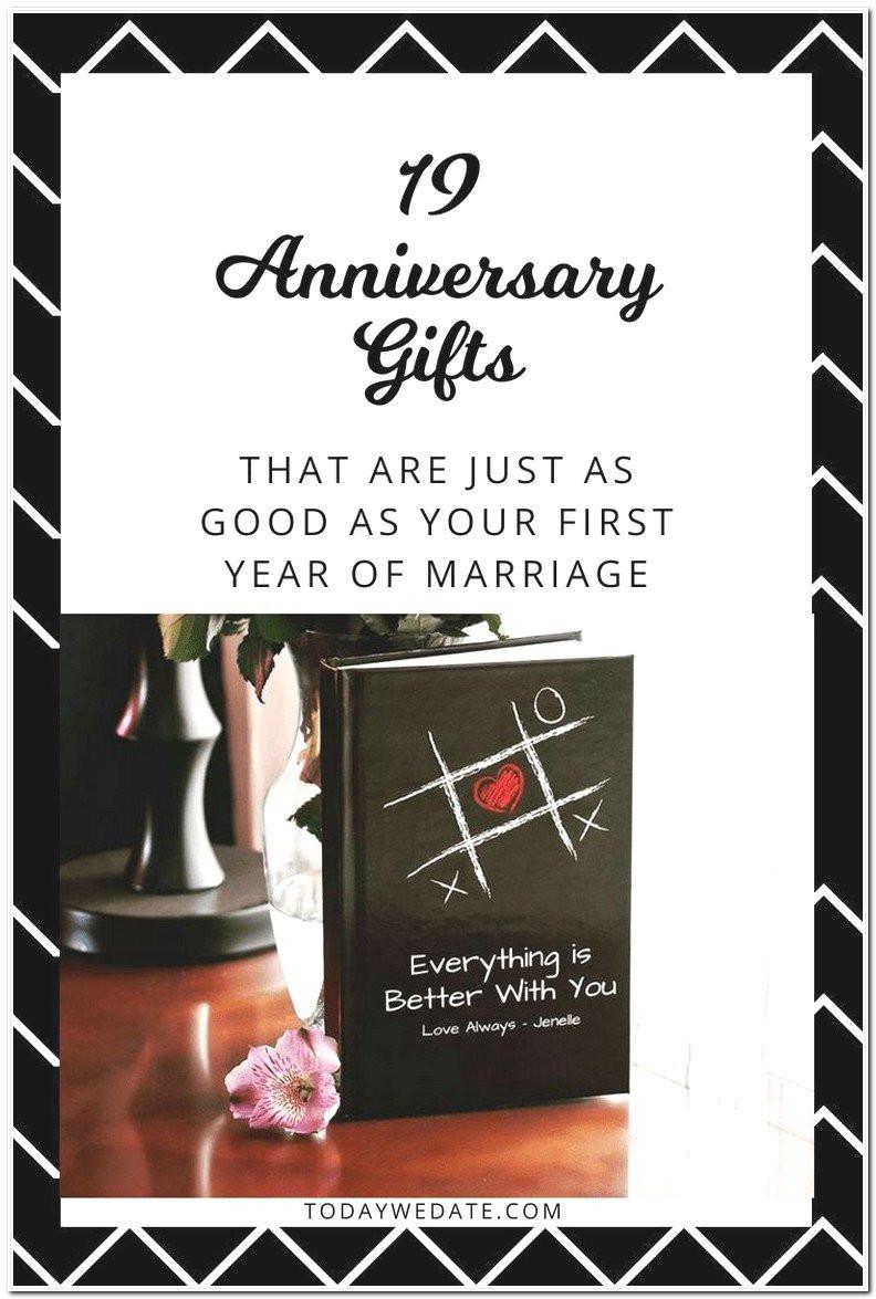 19Th Wedding Anniversary Gift Ideas For Him  19 Year Anniversary Gifts For Him