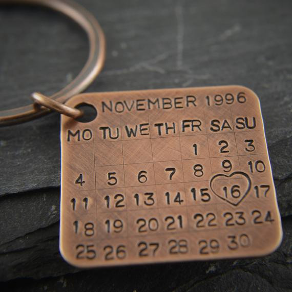 19Th Wedding Anniversary Gift Ideas For Him  Bronze t 8th anniversary 19th anniversary 22nd