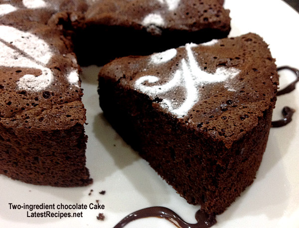 2 Ingredient Chocolate Cake  Two ingre nt chocolate Cake