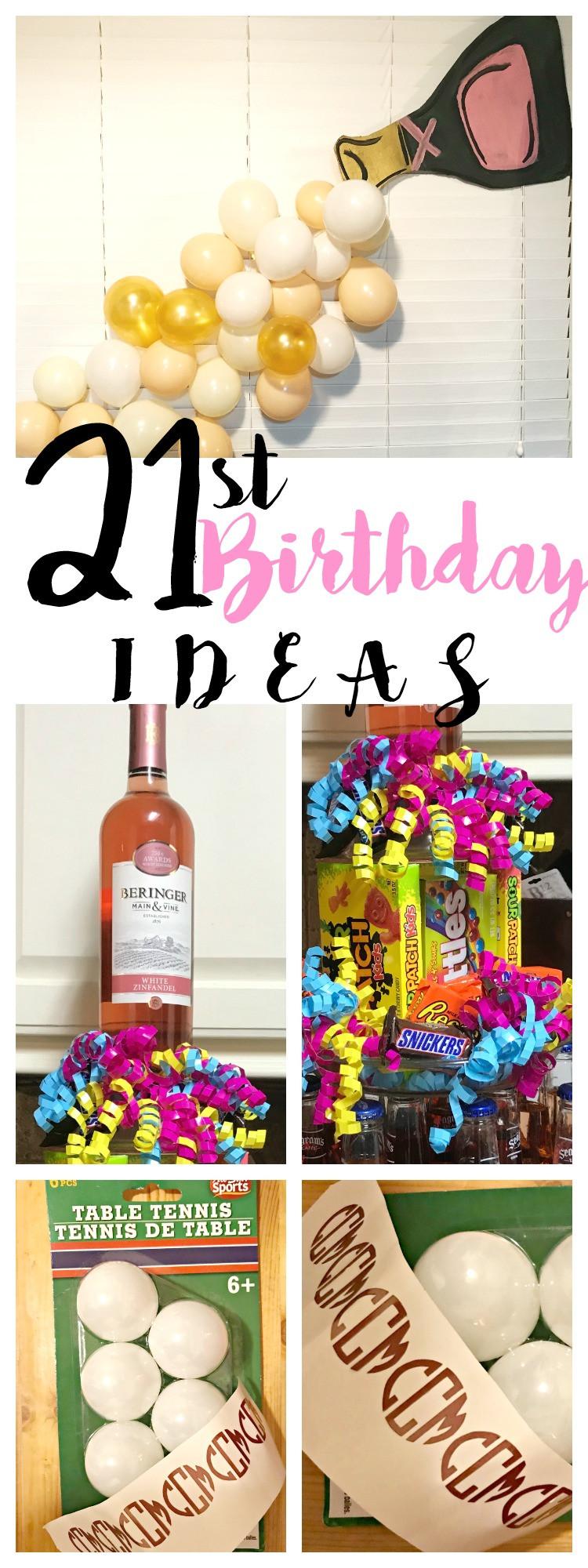 21st Birthday Decorations  21st Birthday Party Ideas
