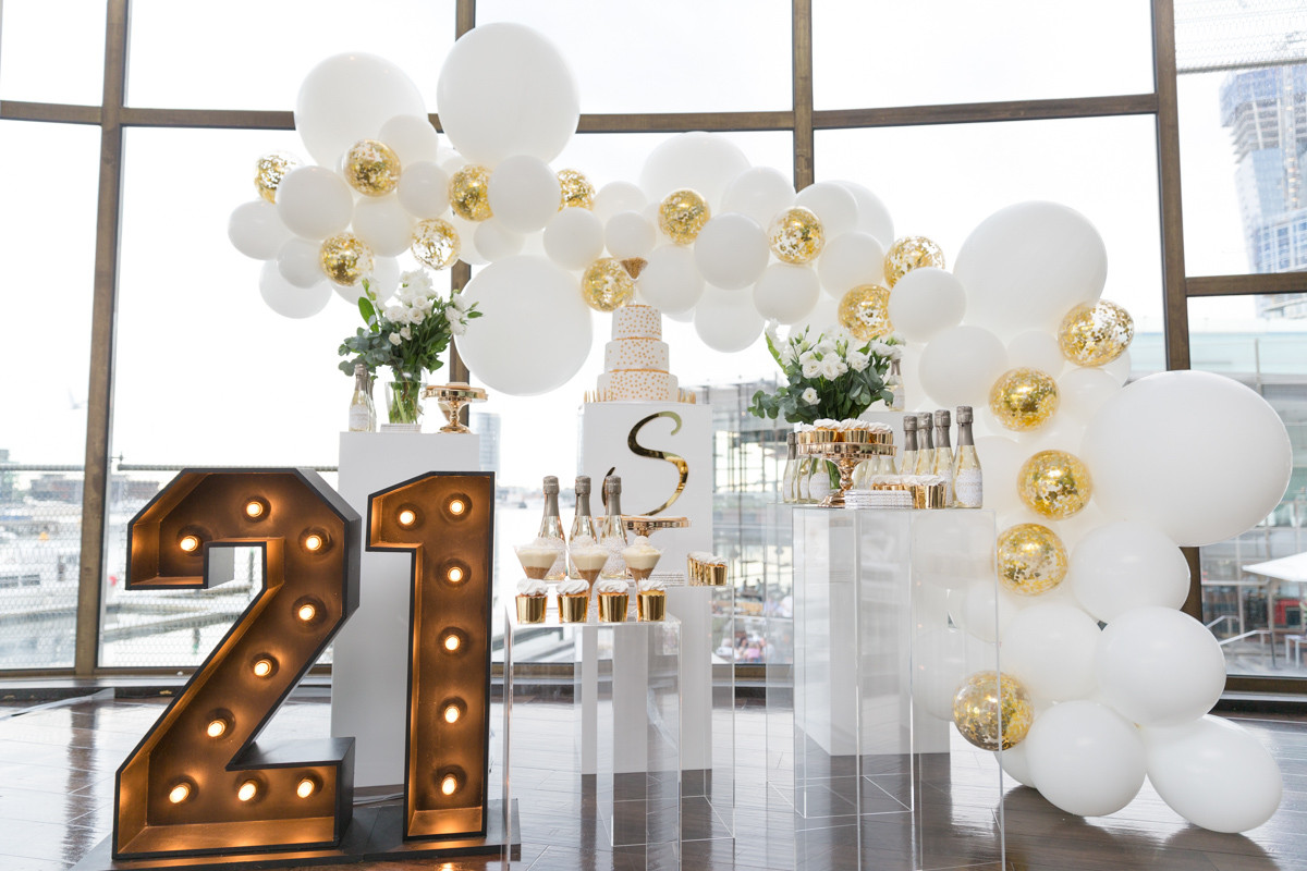 21st Birthday Decorations  Shannon s 21st Birthday Decorations Pixel Perfect
