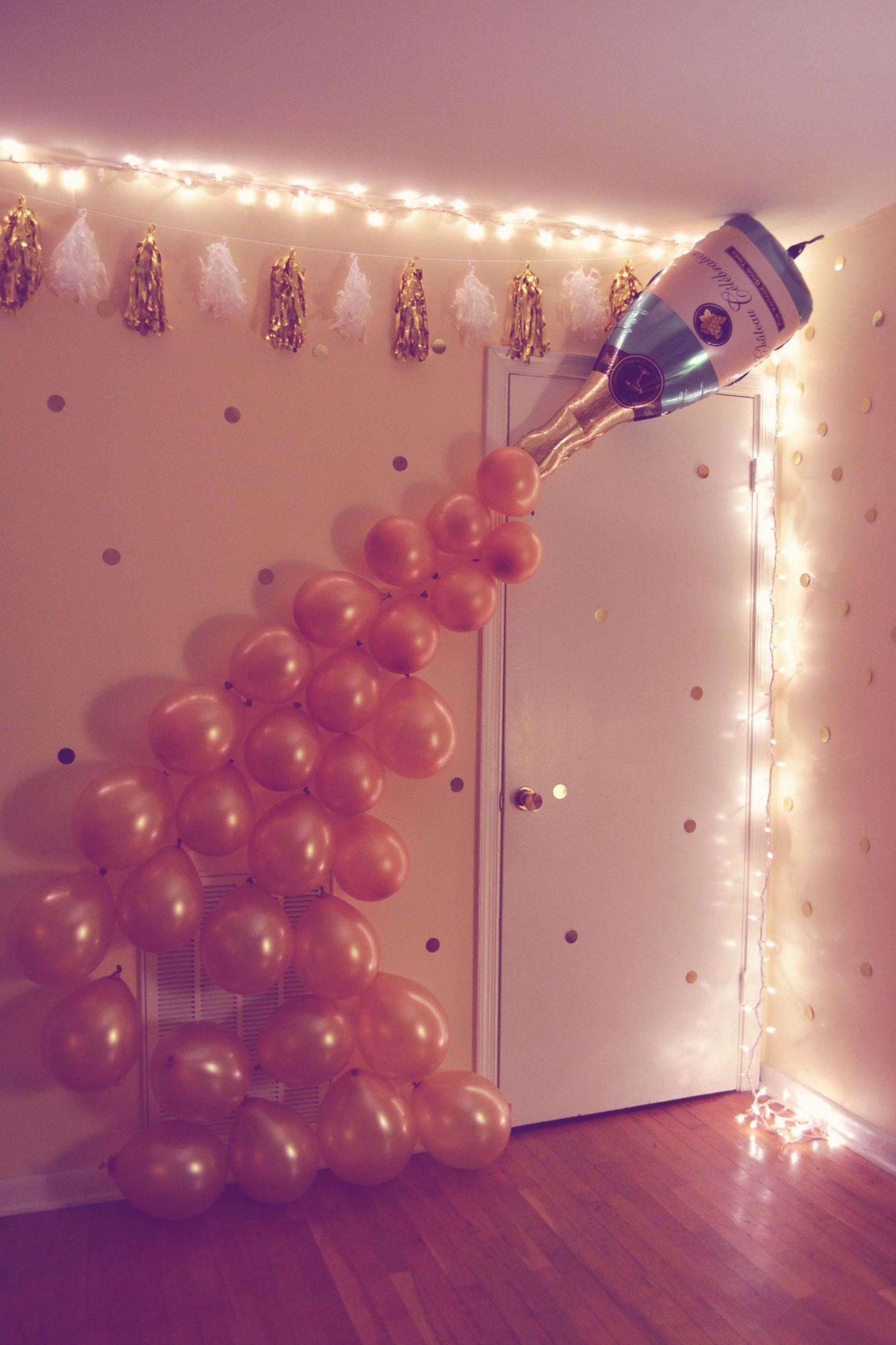 21st Birthday Decorations  DIY 21st Birthday Party – Just a Virginia girl