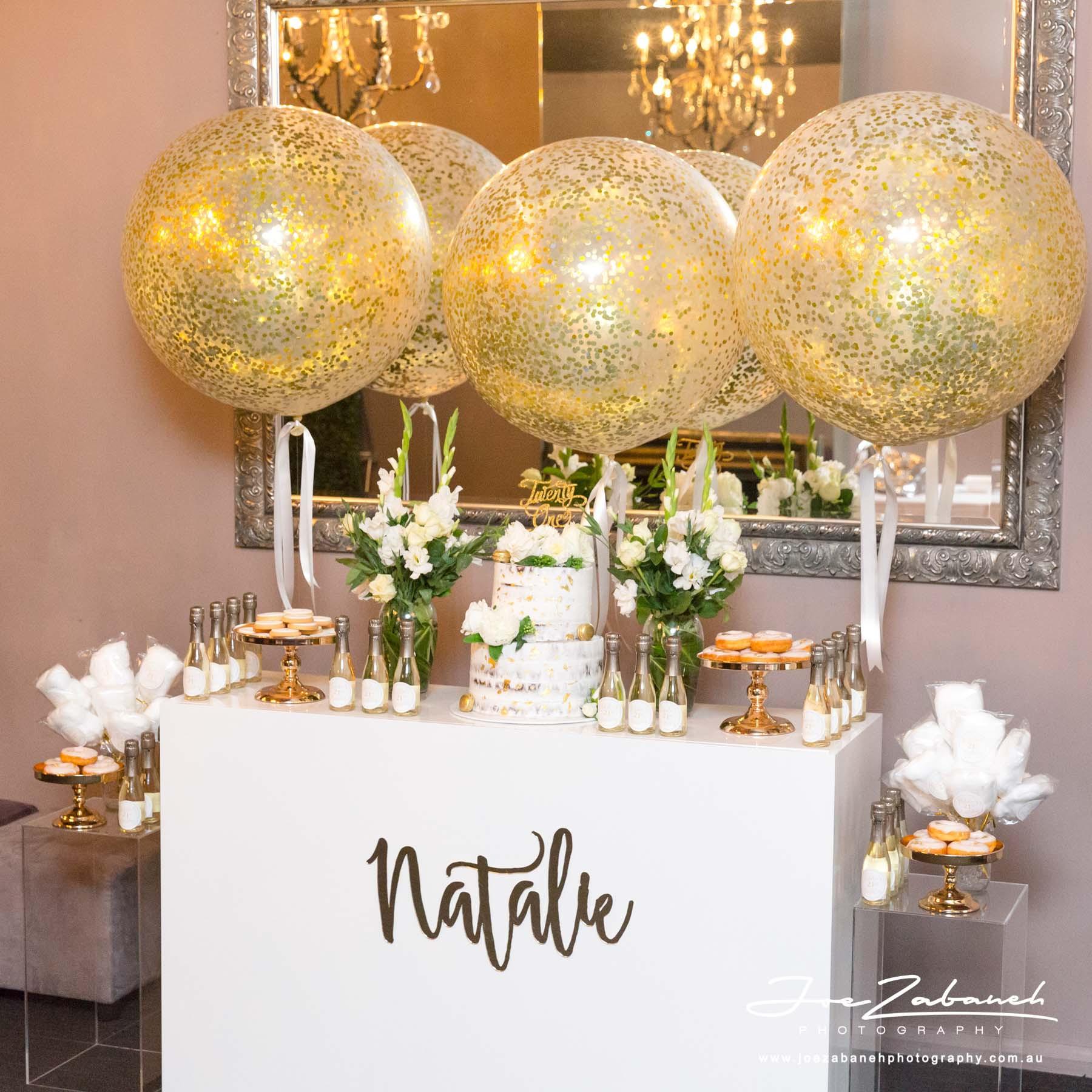 21st Birthday Decorations  Natalie s 21st Birthday Decorations Pixel Perfect