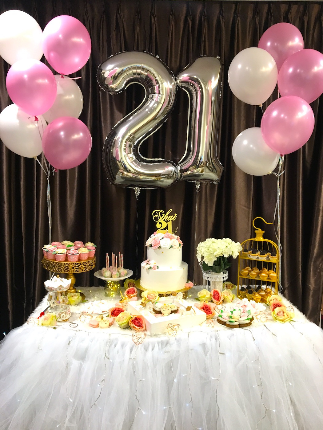 21st Birthday Decorations  21st Birthday Decoration
