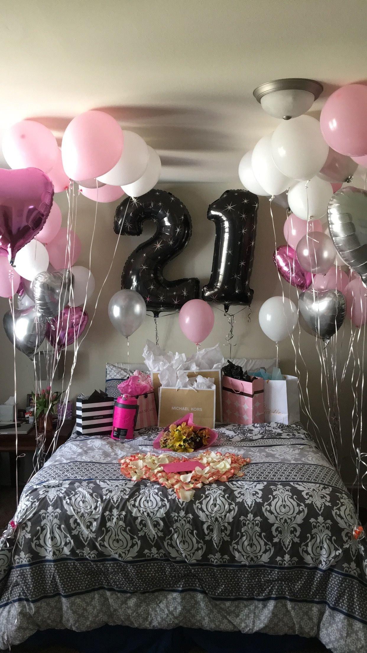 21St Birthday Gift Ideas For Girlfriend  10 Fashionable Birthday Surprise Ideas For Girlfriend 2019