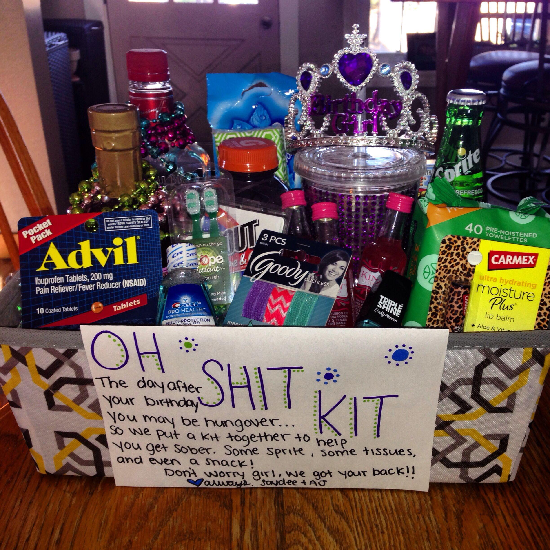 21St Birthday Gift Ideas For Girlfriend  Birthday present for my girlfriends 21 st birthday 21