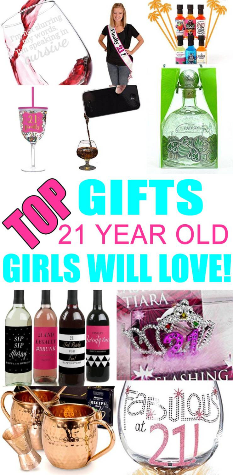 21St Birthday Gift Ideas For Girlfriend  Best Gifts For 21 Year Old Girls