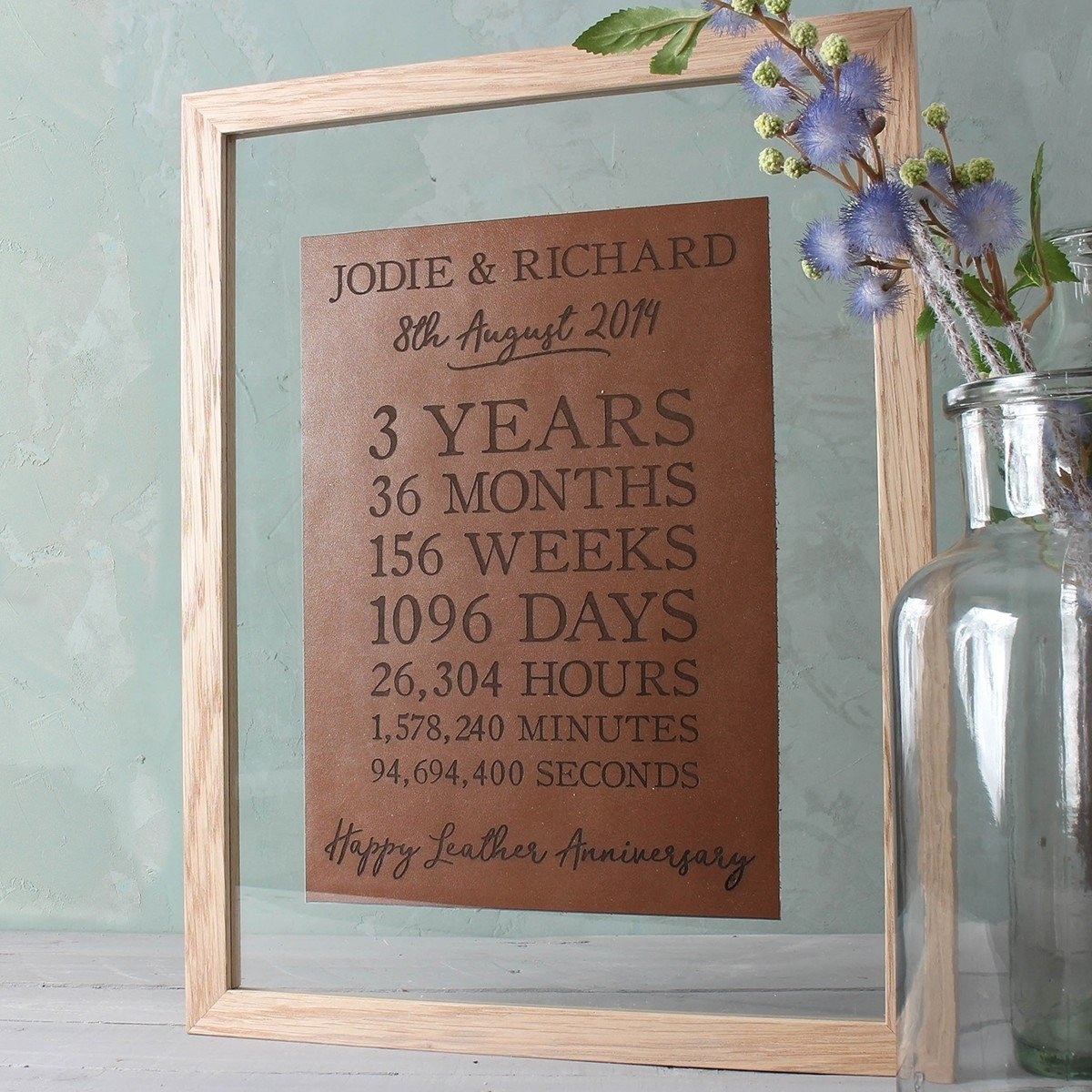 3 Year Anniversary Gift Ideas For Husband  10 Elegant 3Rd Year Anniversary Gift Ideas For Her 2019