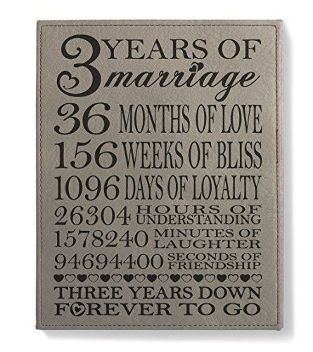 3 Year Anniversary Gift Ideas For Husband  Kate Posh Our 3rd Wedding Anniversary 3rd Anniversary