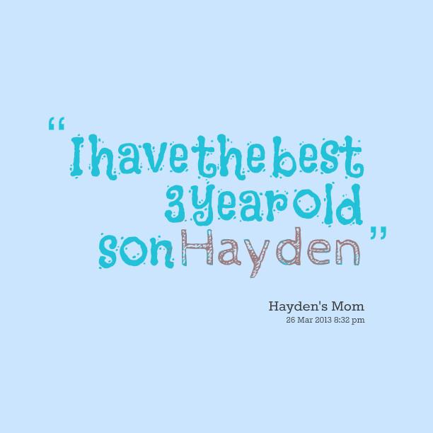 3 Year Old Birthday Quotes  3 Year Old Birthday Quotes QuotesGram