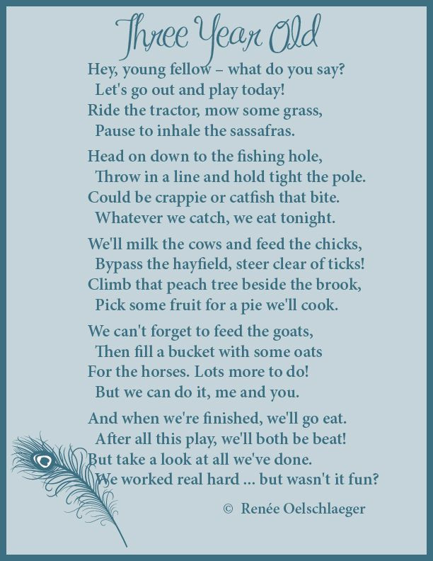 3 Year Old Birthday Quotes  Pin on Poems
