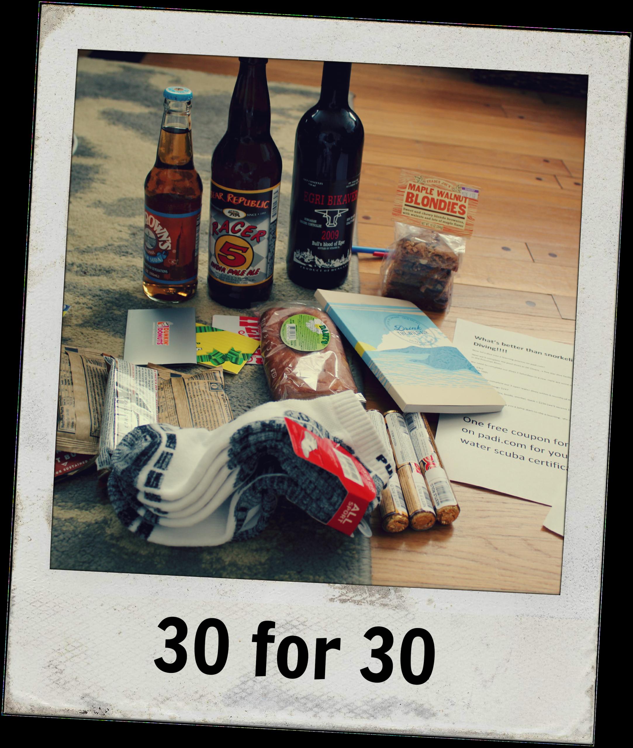 30Th Birthday Gift Ideas For Him  30 birthday ts for 30th birthday