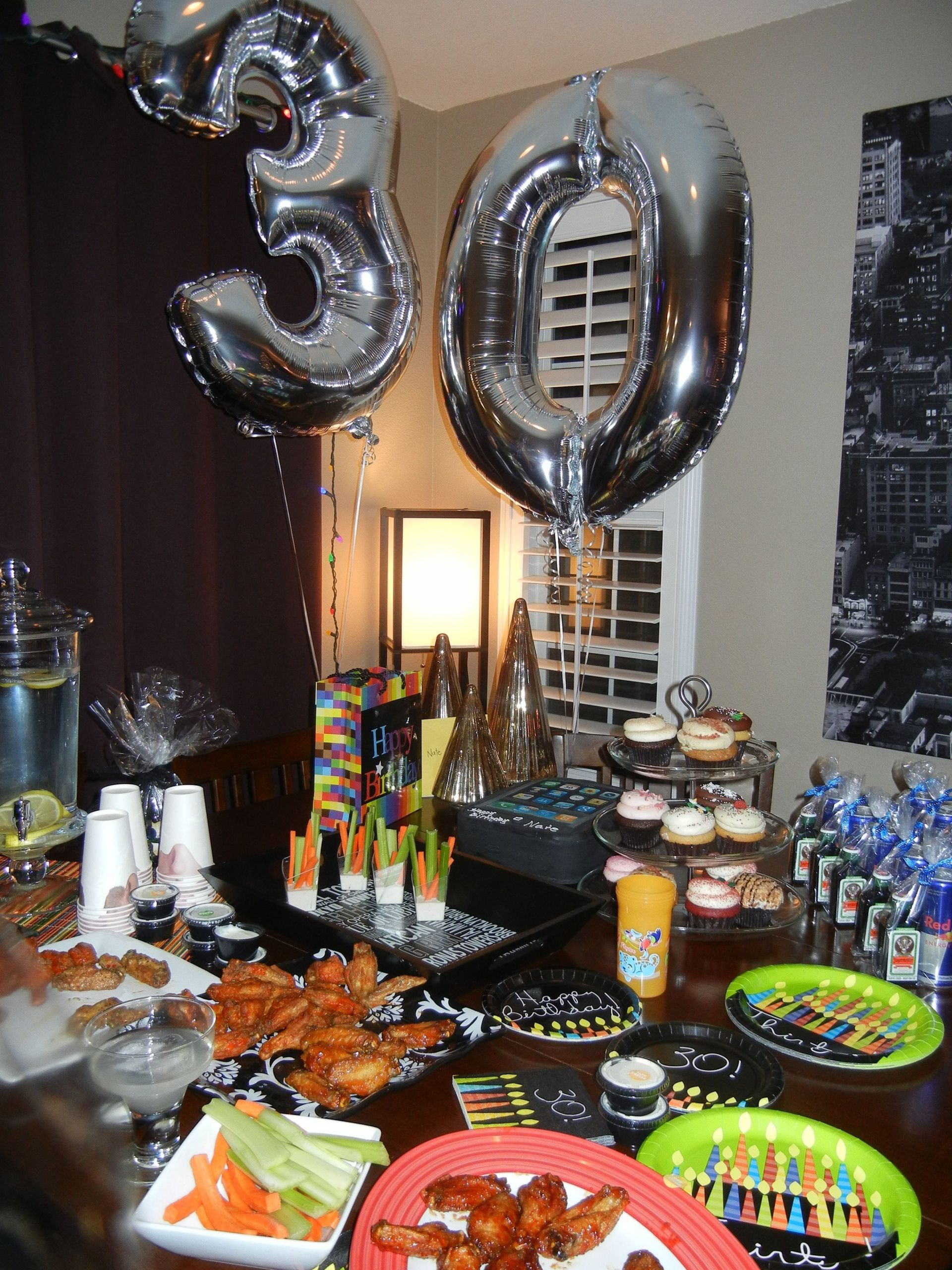 30Th Birthday Gift Ideas For Him  10 Gorgeous 30Th Birthday Party Ideas For Him 2019