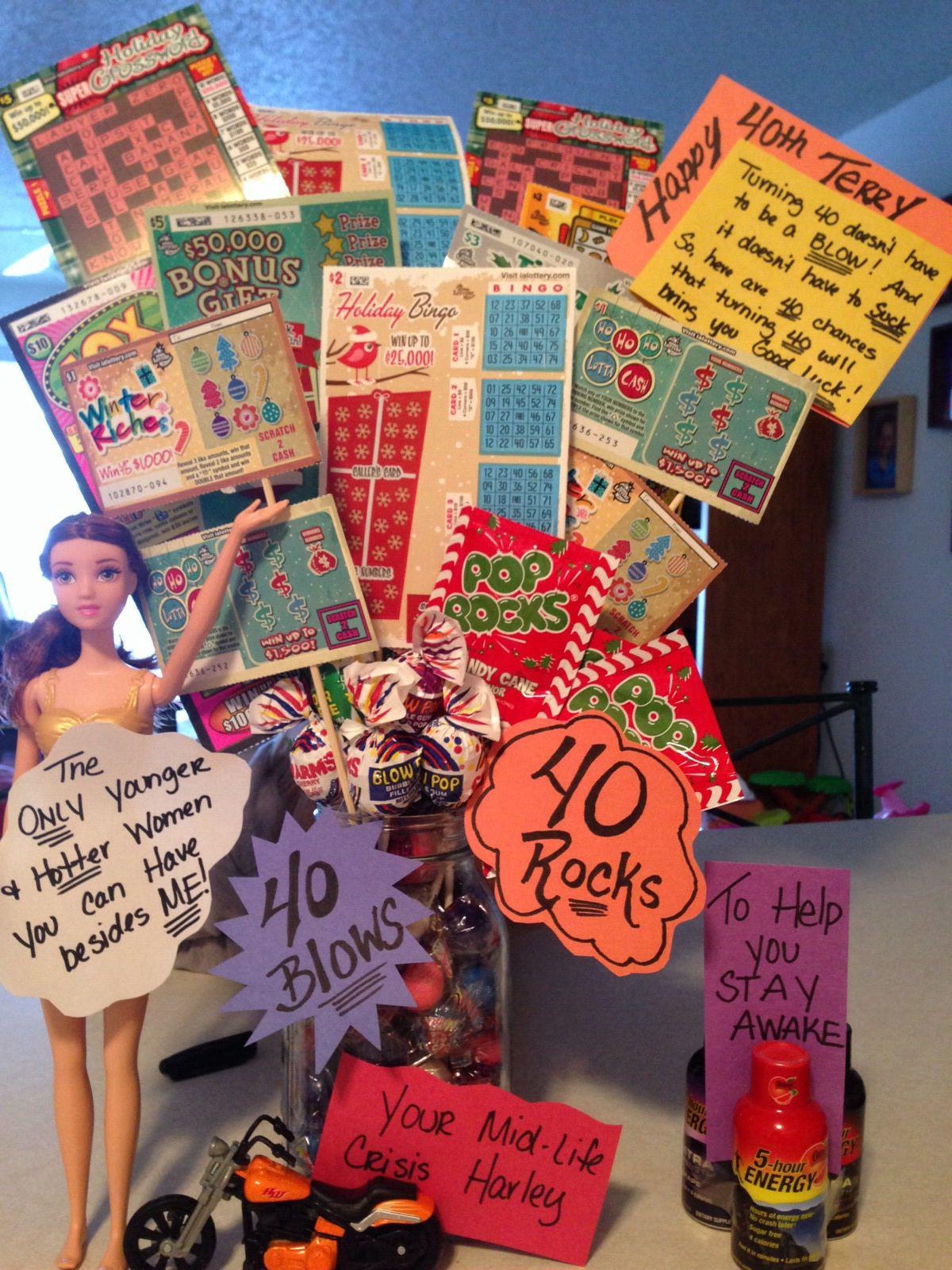 40Th Birthday Gift Ideas For Him  40th birthday t idea