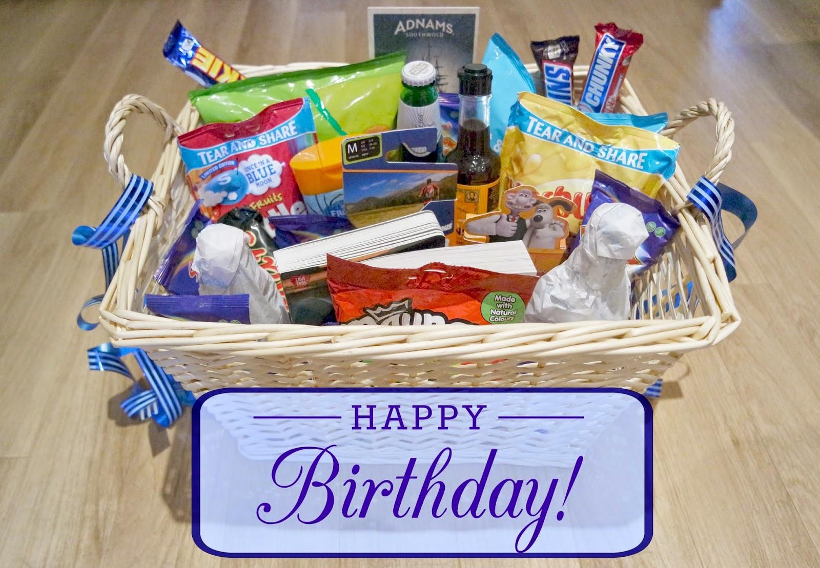 50Th Birthday Gift Ideas Men  Uptown Peach My Dad s 50th Birthday Hamper