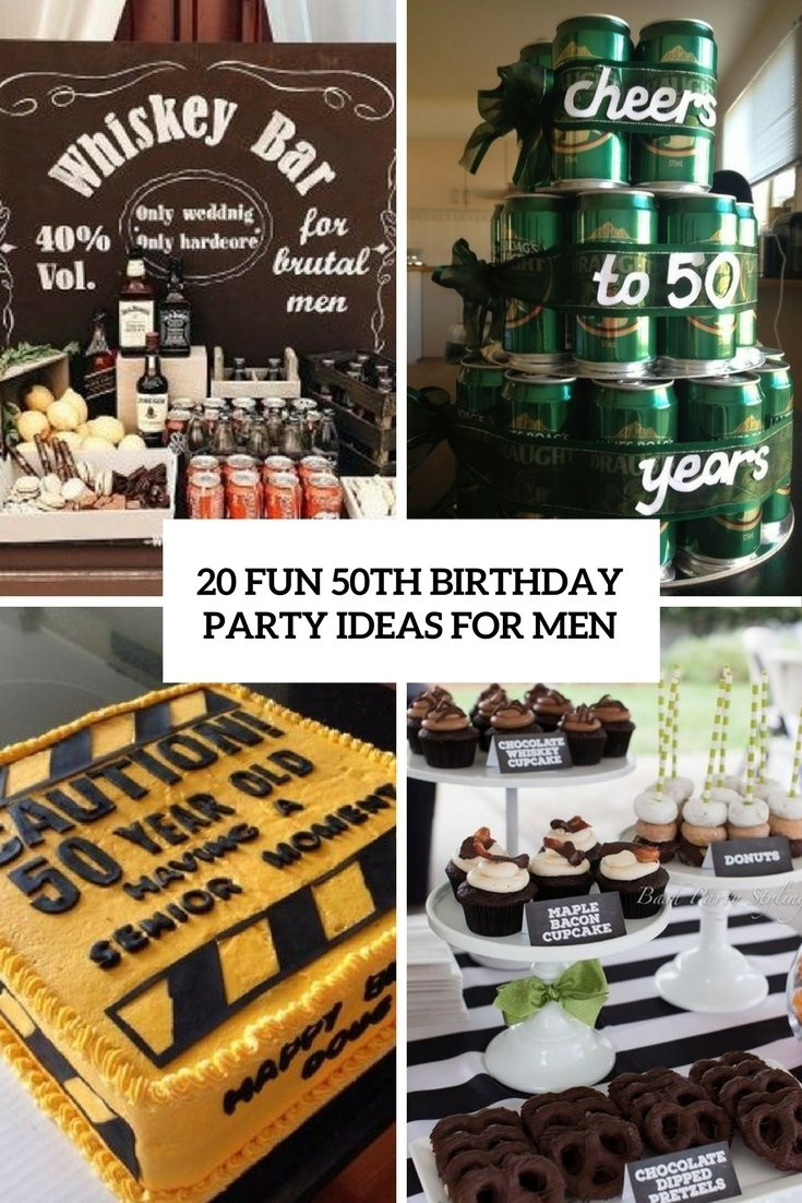 50Th Birthday Gift Ideas Men  10 Fabulous Mens 50Th Birthday Party Ideas 2019