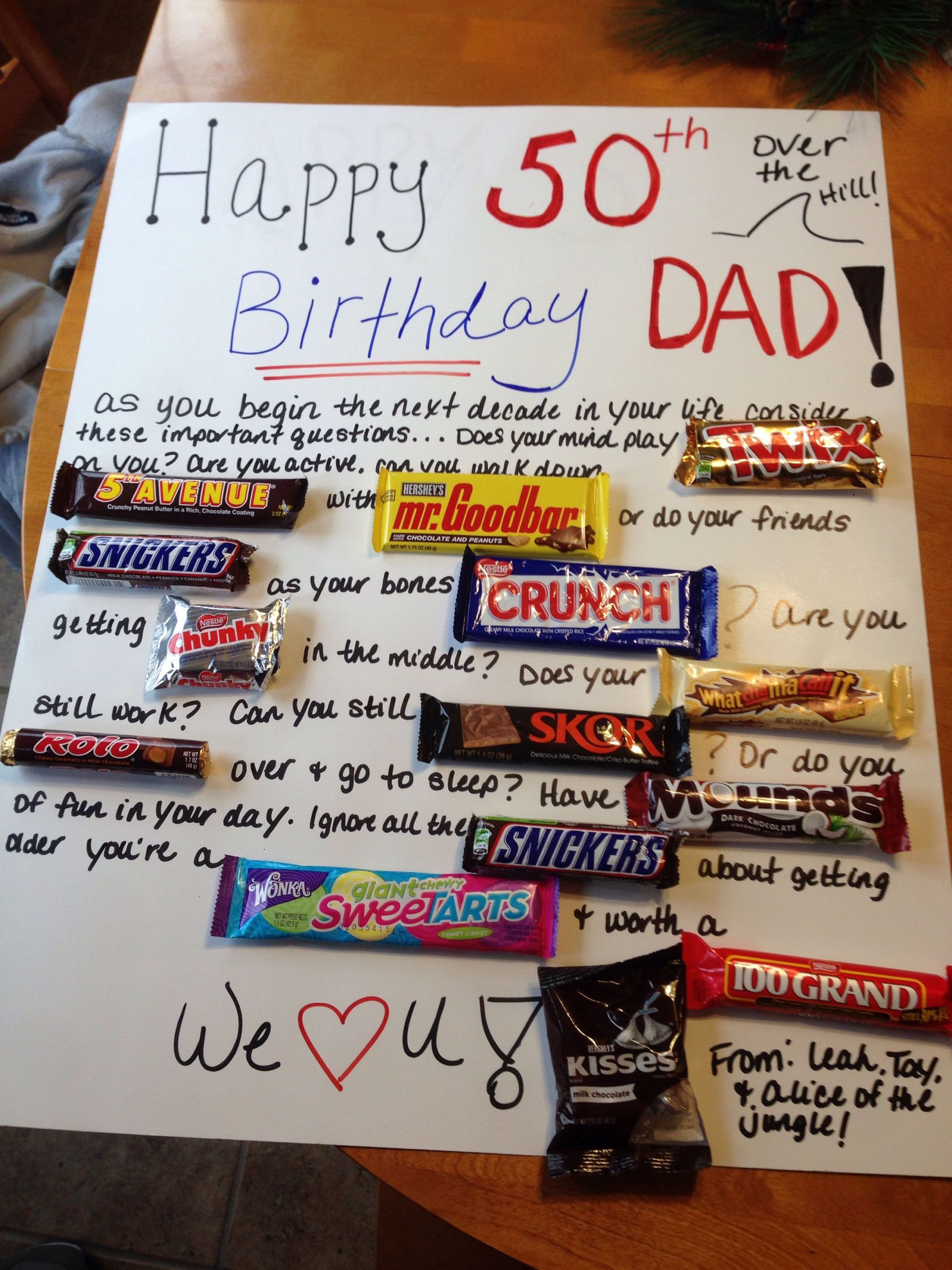 50Th Birthday Gift Ideas Men  50th Birthday Gift Ideas For Uncle