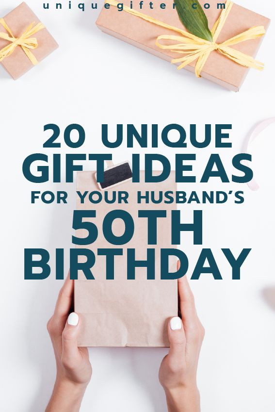 50Th Birthday Gift Ideas Men  Gift Ideas for your Husband's 50th Birthday