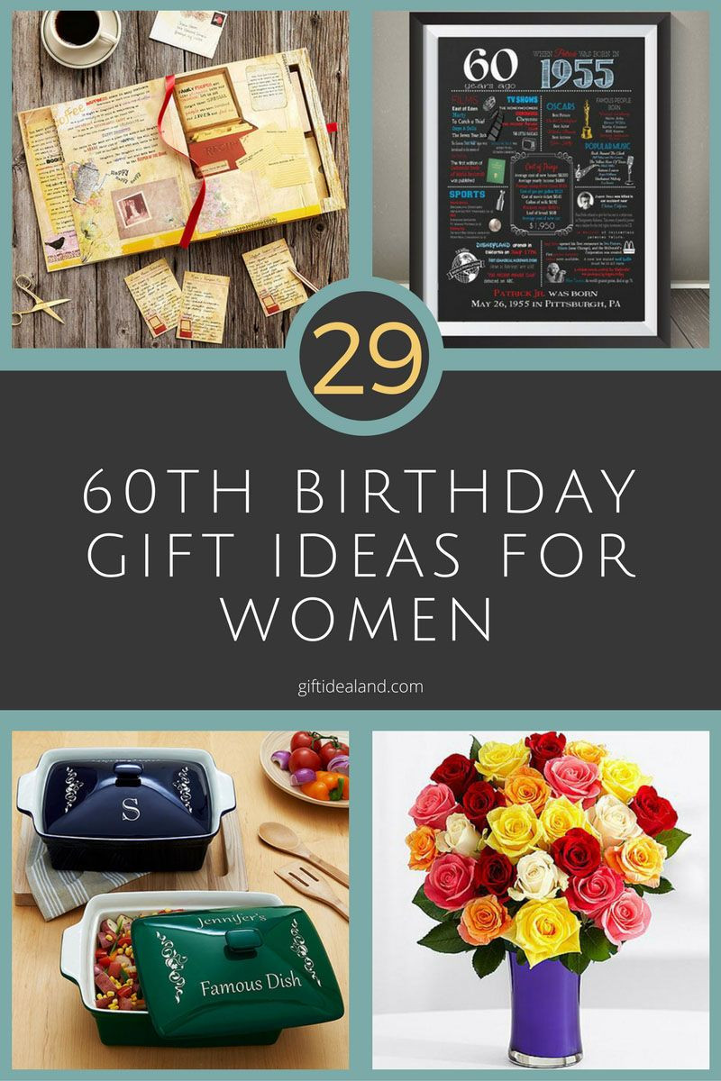 60Th Birthday Gift Ideas For Her  29 Great 60th Birthday Gifts For Her