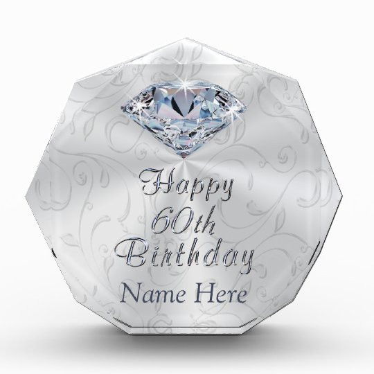 60Th Birthday Gift Ideas For Her  Gorgeous Personalized 60th Birthday Gifts for Her