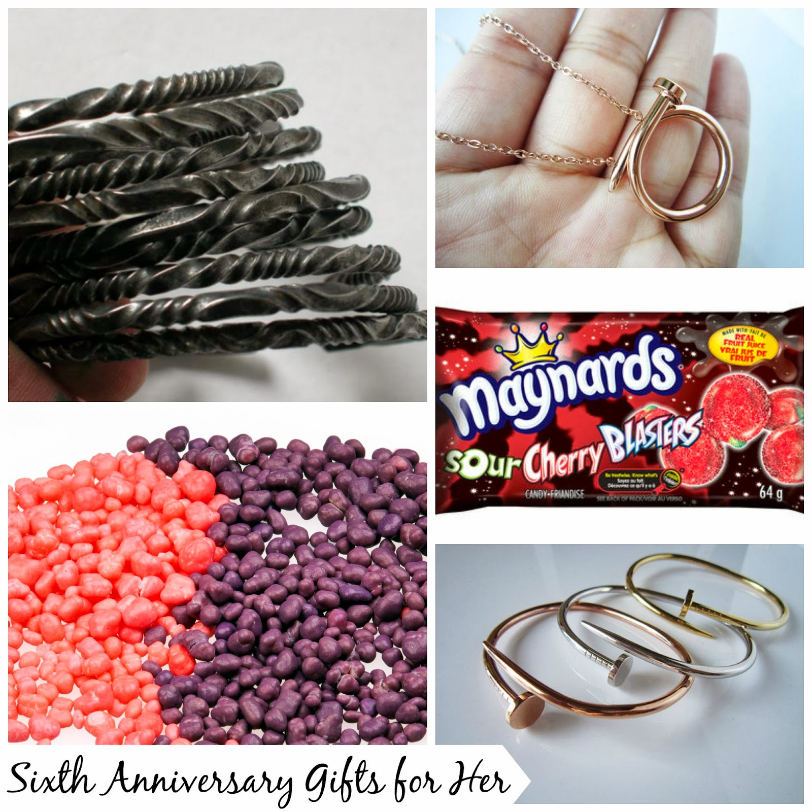 6Th Wedding Anniversary Gift Ideas For Her  Sweet Stella s Sixth Wedding Anniversary Gift Ideas for