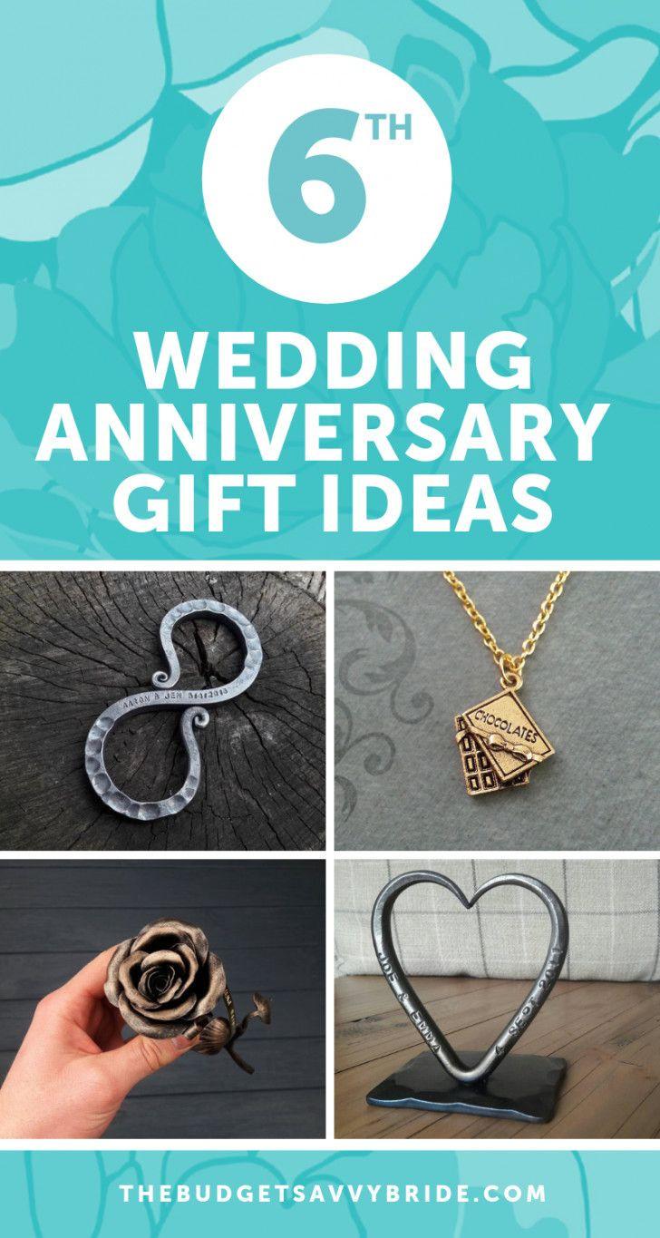 6Th Wedding Anniversary Gift Ideas For Her  Sixth Wedding Anniversary Gift Ideas With images
