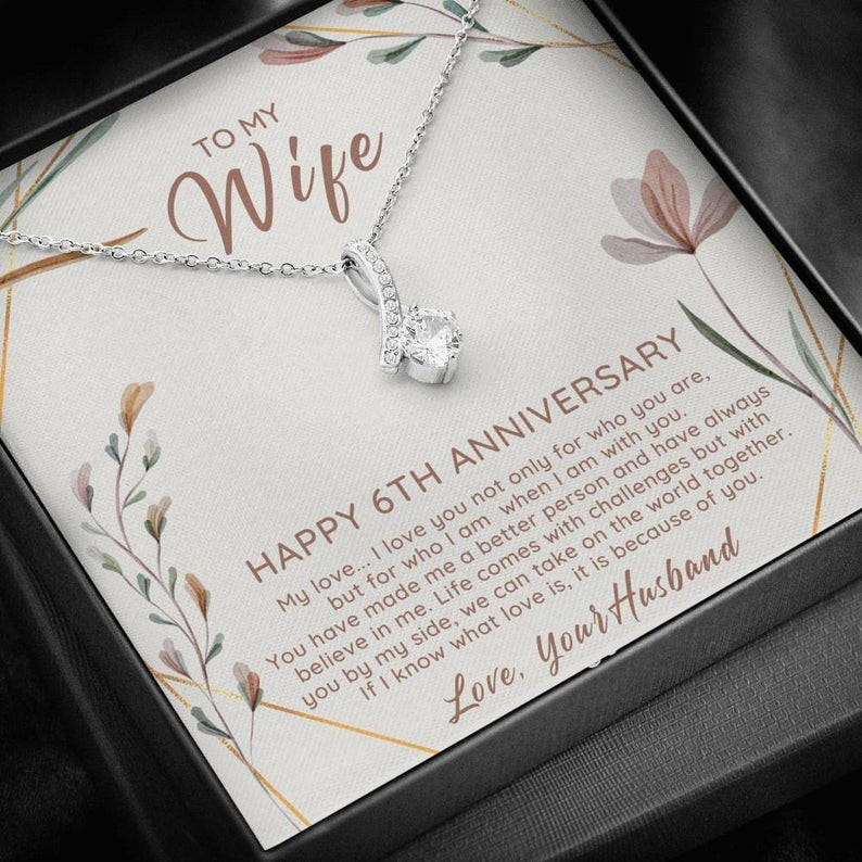 6Th Wedding Anniversary Gift Ideas For Her  6th Anniversary Gift For Her 6 Year Anniversary Gift Ideas