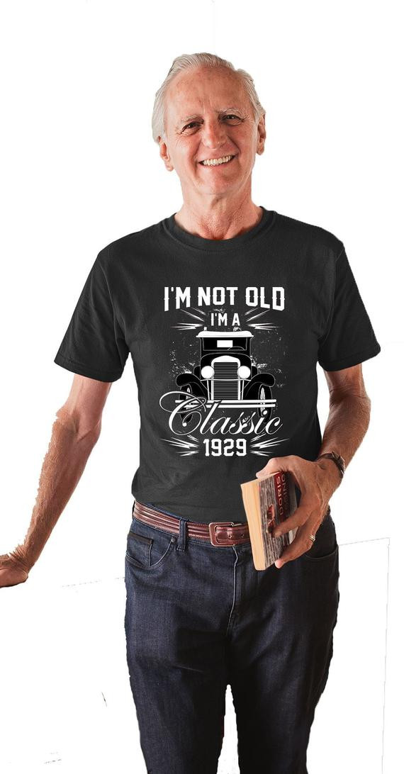 90Th Birthday Gift Ideas For Men  90th Birthday T Shirt Birthday Gift Ideas For Men Custom