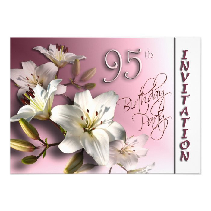 95Th Birthday Gift Ideas  95th Birthday Gifts Custom 95th Birthday Gift Ideas