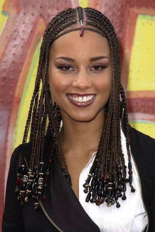 Alicia Keys Braids Hairstyles  70 Best Black Braided Hairstyles That Turn Heads in 2017