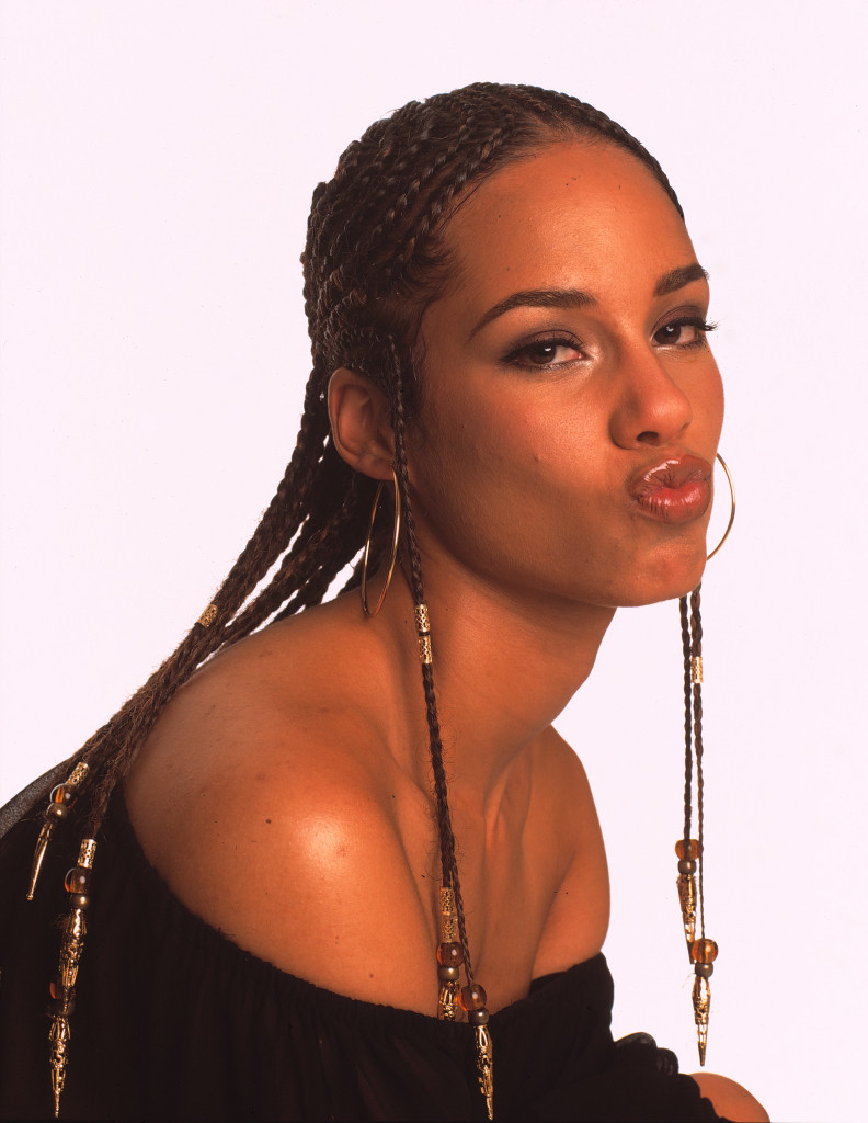 Alicia Keys Braids Hairstyles  Alicia Keys' Exquisite Cornrows Are Unfor table