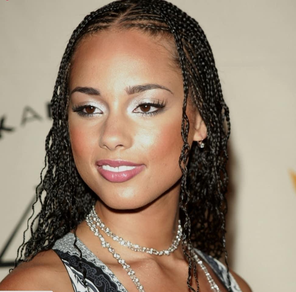 Alicia Keys Braids Hairstyles  Alicia Keys braids hairstyles you will like Legit