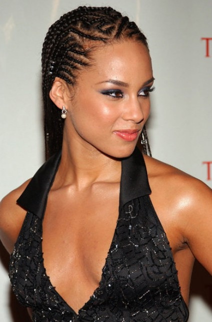Alicia Keys Braids Hairstyles  Hairstyle Tips for Women with Cornrows Hairstyles Weekly
