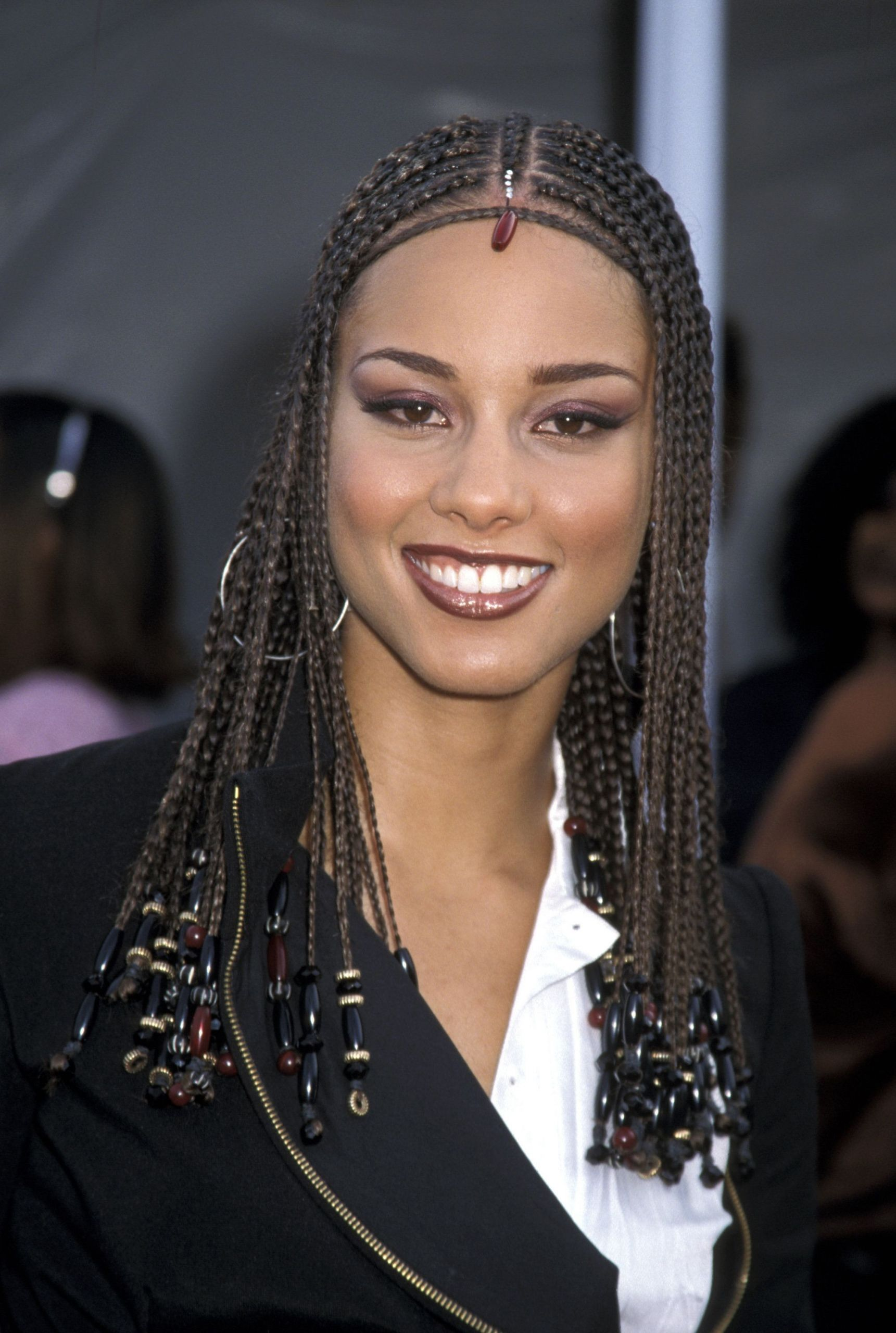 Alicia Keys Braids Hairstyles  Alicia Keys Most Head Turning Hairstyles All Time