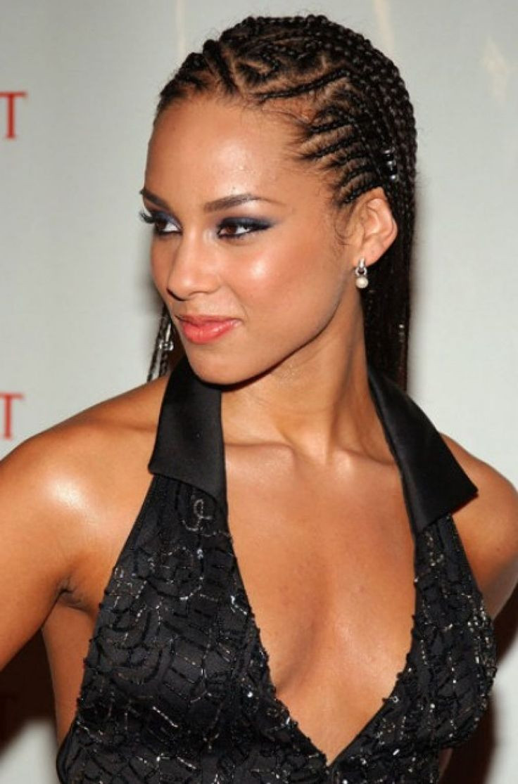 Alicia Keys Braids Hairstyles  9 best images about braids on Pinterest