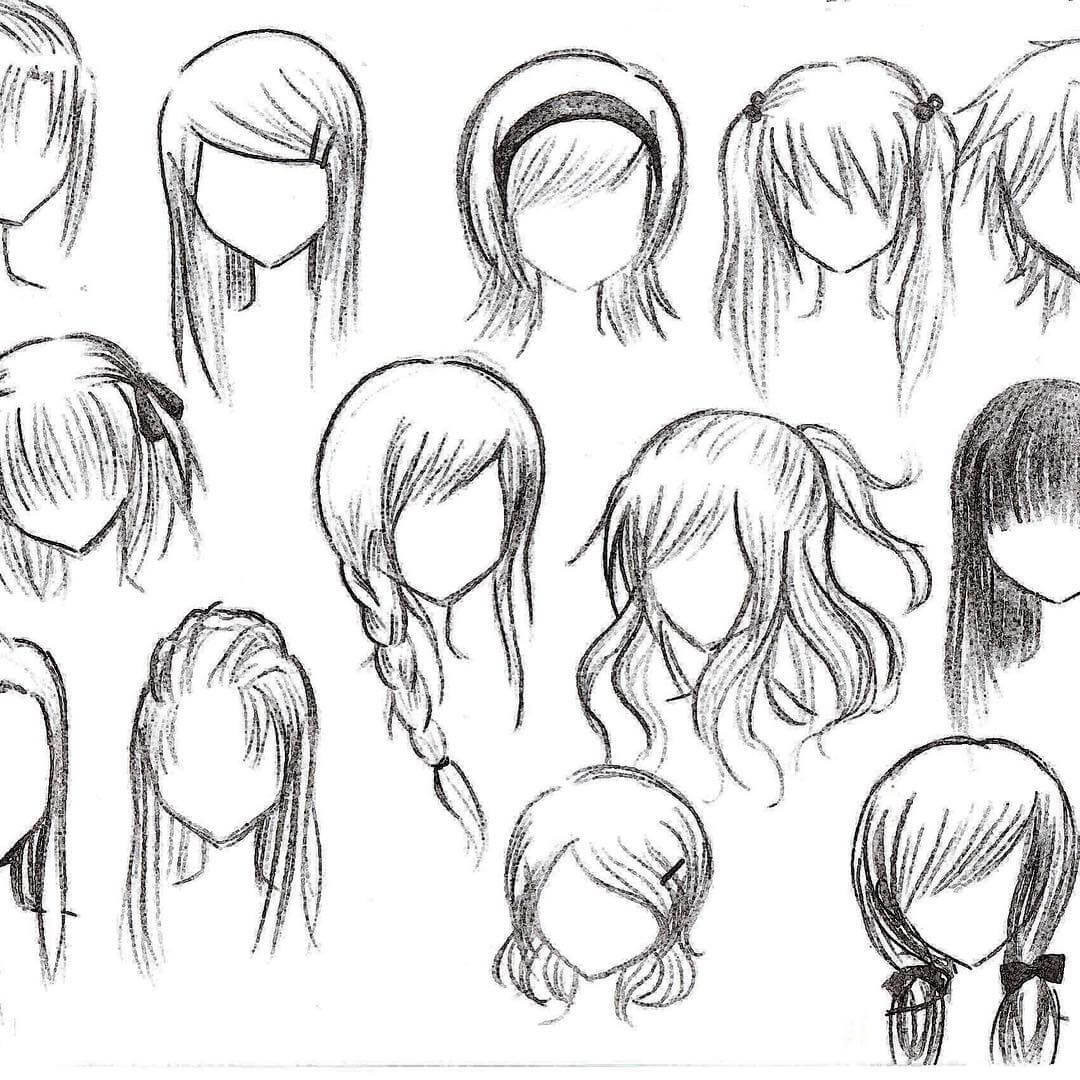 Anime Hairstyle  Top 25 anime girl hairstyles collection Sensod