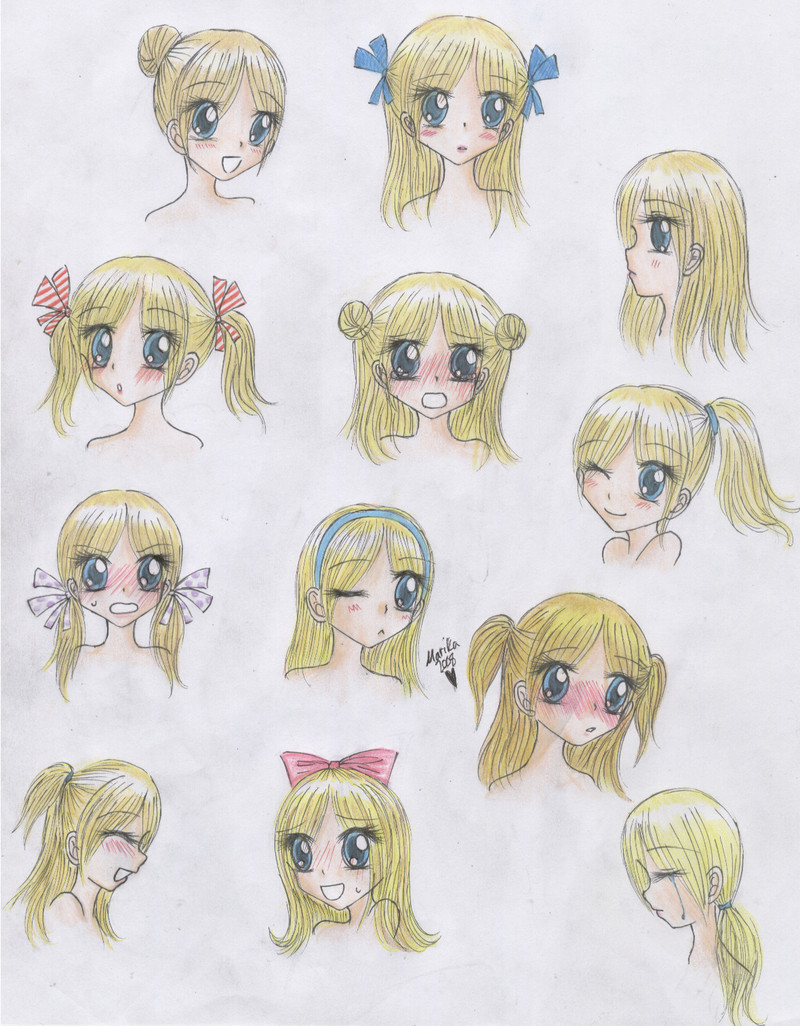 Anime Hairstyles For Girls  Cute Anime Hairstyles trends hairstyle