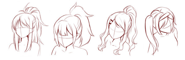 Anime Hairstyles For Girls  What is the meaning of the different hairstyles in anime