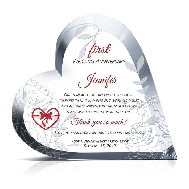 Anniversary Gift Ideas For Wife  First Anniversary Gift Ideas for Wife