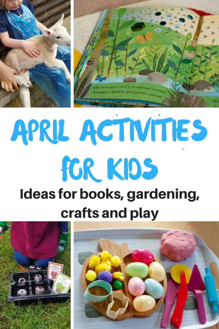 April Crafts For Toddlers  April activities for kids