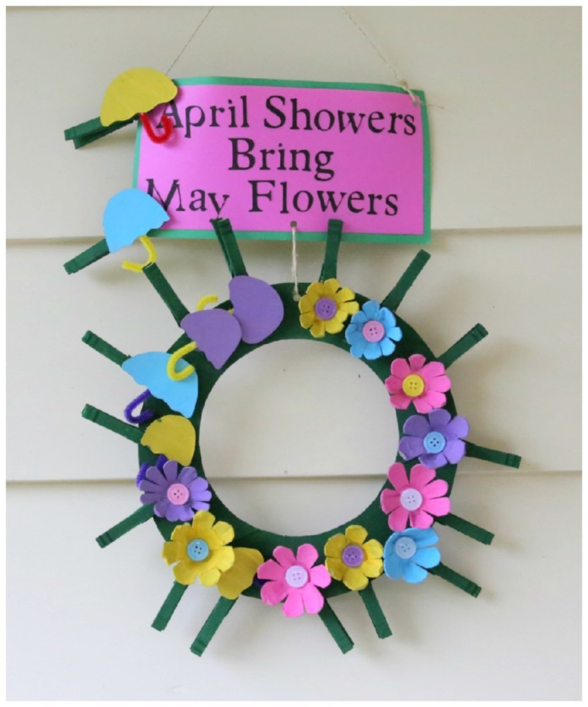 April Crafts For Toddlers  April Month Fun Crafts