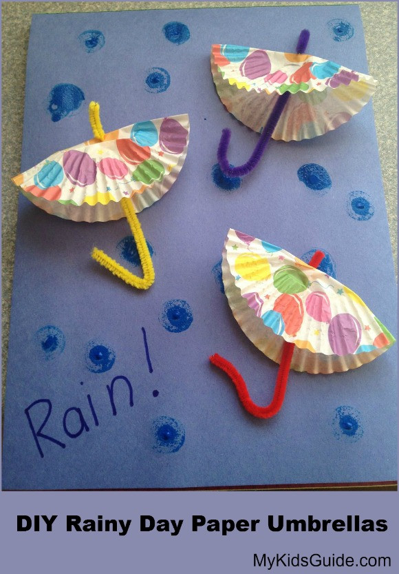 April Crafts For Toddlers  EVER AFTER MY WAY Crafts for April Showers bring May